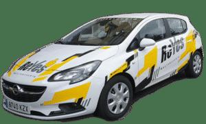 vehículo de prácticas del permiso b