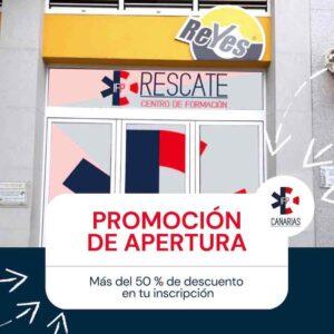 Promocion apertura IFP Canarias