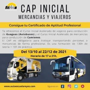 CAP inicial mercancias y viajeros octubre 2021