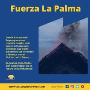 Comunicado Volcán La Palma