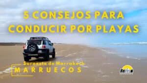 Portada 5 Consejos para conducir por playa